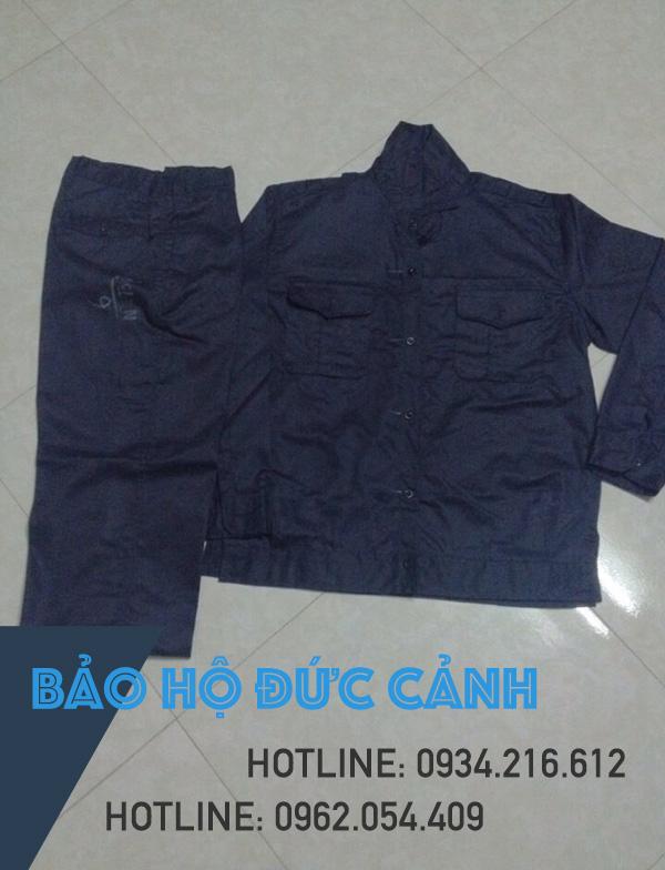 Quần áo công nhân màu tím than