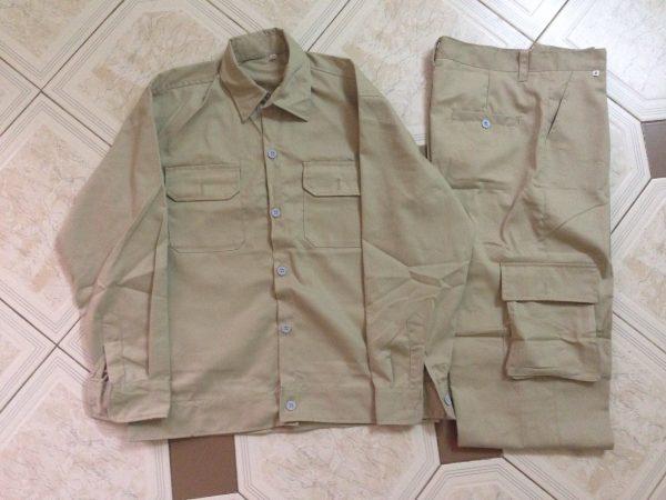 Quần áo bảo hộ cho kỹ sư (có túi hộp))
